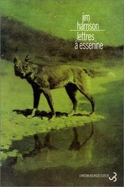 Cover of: Lettres à Essenine