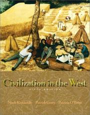 Cover of: Civilization in the West, Single Volume Edition (5th Edition)