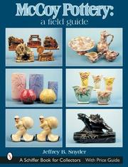 Cover of: Mccoy Pottery: A Field Guide (Schiffer Book for Collectors)