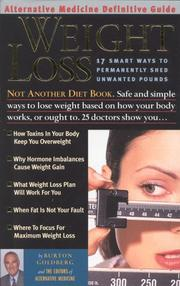 Cover of: Weight Loss