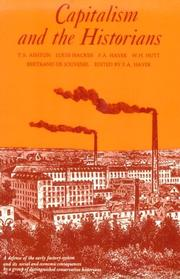 Cover of: Capitalism and the historians