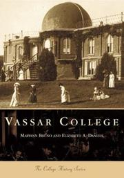 Cover of: Vassar College  (NY)  (College History)