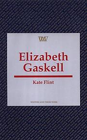 Cover of: Elizabeth Gaskell