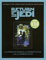 Cover of: Script Facsimile: Star Wars: Episode 6: Return of the Jedi