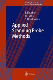Cover of: Applied scanning probe methods