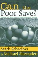 Cover of: Can the Poor Save?