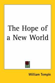 Cover of: The hope of a new world