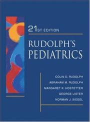 Cover of: Rudolph's Fundamentals of Pediatrics