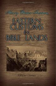 Cover of: Eastern Customs in Bible Lands