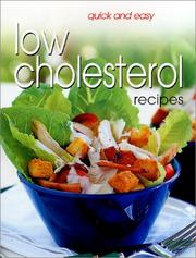 Quick & Easy Low Cholesterol Recipes
