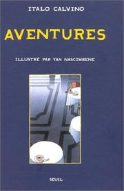 Cover of: Aventures: nouvelles