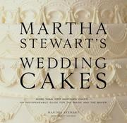 Cover of: Martha Stewart's Wedding Cakes