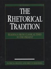 Cover of: The Rhetorical Tradition