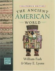 Cover of: The Ancient American World (The World in Ancient Times)