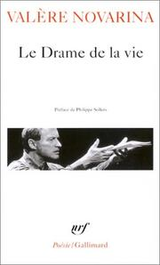 Cover of: Le Drame de la vie