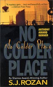 Cover of: No Colder Place (A Bill Smith/Lydia Chin Novel)