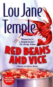 Cover of: Red Beans and Vice (Heaven Lee Culinary Mysteries)