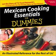 Cover of: Mexican Cooking Essentials for Dummies