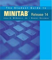 Cover of: The Student Guide to MINITAB Release 14 (book only)