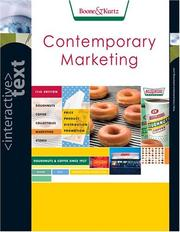 Cover of: Interactive Text, Contemporary Marketing