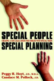 Cover of: Special People, Special Planning