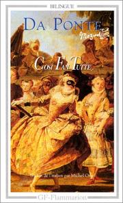 Cover of: Cosi Fan Tutte