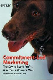 Cover of: Commitment-Led Marketing