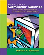 Cover of: Foundations of Computer Science