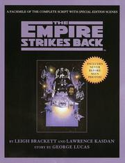 Cover of: Script Facsimile: Star Wars: Episode 5: The Empire Strikes Back