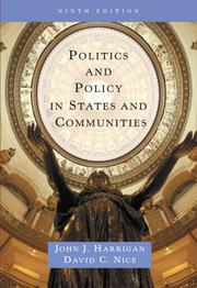 Cover of: Politics and Policy in States and Communities (9th Edition)