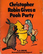 Cover of: Christopher Robin Gives a Pooh Party
