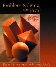 Cover of: Problem Solving with Java, Update (2nd Edition)
