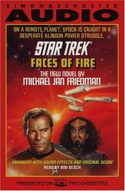 Cover of: STAR TREK FACES OF FIRE
