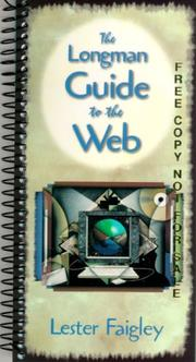 Cover of: Longman Guide to the Web, The