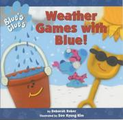 Cover of: Weather Games with Blue! (Blue's Clues)