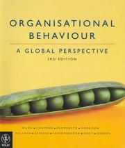 Cover of: Organisational Behaviour