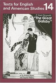 Cover of: The Great Gatsby. Students' Book.