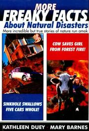 Cover of: More Freaky Facts about Natural Disasters