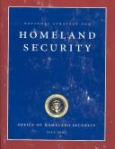 Cover of: National Strategy for Homeland Security