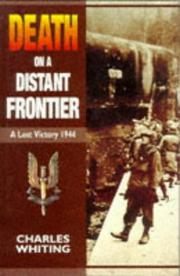 Cover of: Death on a distant frontier