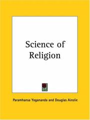 Cover of: Science of Religion