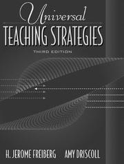Cover of: Universal Teaching Strategies (3rd Edition)
