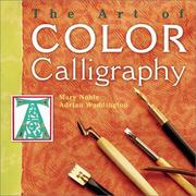 Cover of: The Art of Color Calligraphy