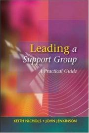 Cover of: Leading a Support Group