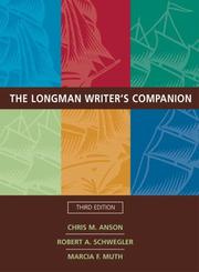 Cover of: Longman Writer's Companion (with MyCompLab), The (3rd Edition) (MyCompLab Series)