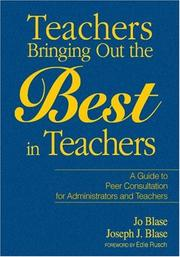 Cover of: Teachers Bringing Out the Best in Teachers