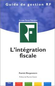 Cover of: L'Intégration fiscale