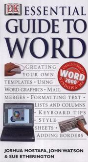Cover of: Essential Guide to Word (Essential Computers)