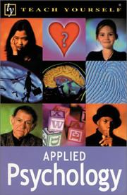 Cover of: Teach Yourself Applied Psychology