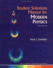 Cover of: Student Solutions Manual for Modern Physics
